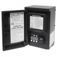 Malibu 8100-0200-01 200 watt 12VAC outdoor transformer with digital timer and photo eye