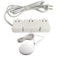 DM3-120-WH 200watt 120VAC electronic white transformer 3 outlets with tap dimmer 120VAC